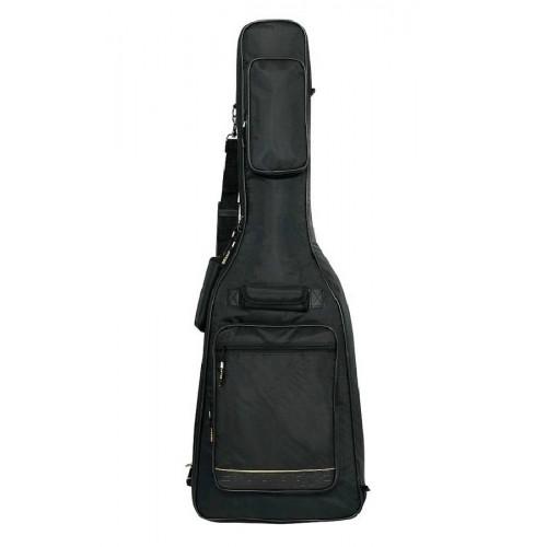 Изображение чехла для гитары Rockbag RB20505 Deluxe – Bass – Front Side View|Leader Promusic