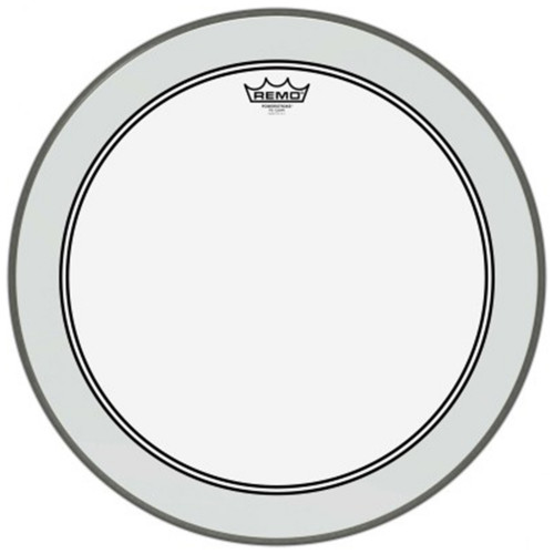 Зображення пластика для бас барабана REMO P3-1320-C2 – Front Side View|Leader Promusic