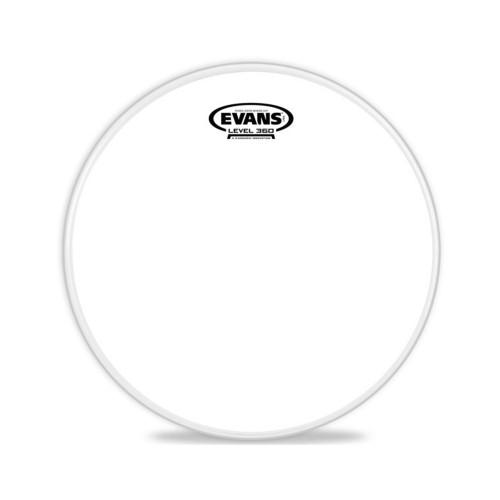 Рабочий пластик для малого барабана Evans B12G1RD 12 Power Center Reverse Dot – Front Side View | Leader Promusic
