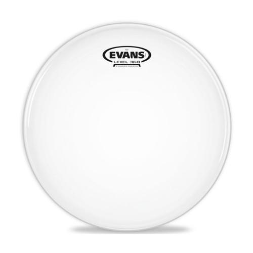 Изображение рабочего пластика для малого барабана Evans B14G2 G2 Coated – Front Side View | Leader Promusic