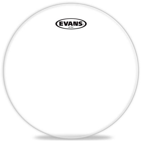 "Зображення робочого пластика для малого барабана Evans BD22G1 22"" Genera G1 Clear – Front Side View | Leader Promusic"