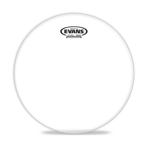 Зображення резонаторного пластика для малого барабана Evans S14H30 14 Hazy 300 Snare Side – Front Side View | Leader Promusic