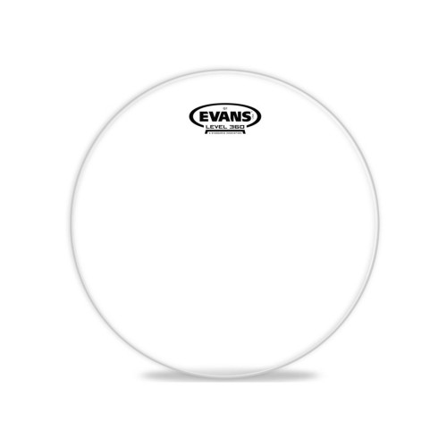 Изображение рабочего пластика для тома Evans TT10G1 10 Genera G1 Clear – Front Side View | Leader Promusic