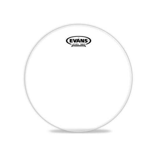 Изображение рабочего пластика для тома Evans TT10G2 10 Genera G2 Clear – Front Side View   Leader Promusic