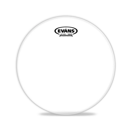 Изображение рабочего пластика для тома Evans TT12G1 12 Genera G1 Clear – Front Side View | Leader Promusic