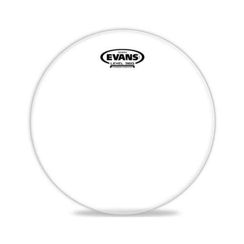 Зображення резонаторного пластика для тома Evans TT12GR 12 Genera Resonant – Front Side View | Leader Promusic