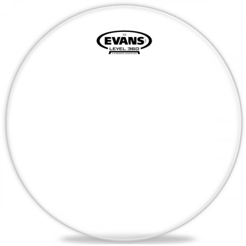 Зображення робочого пластика для тома Evans TT13G2 13 Genera G2 Clear – Front Side View | Leader Promusic