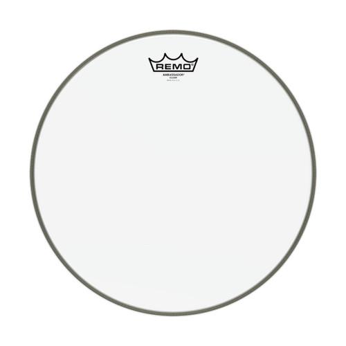 Зображення пластика для малого барабана REMO BA031400 – Front Side View|Leader Promusic
