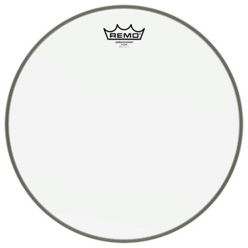 Зображення пластика для бас барабана REMO BR132200 – Front Side View|Leader Promusic