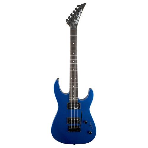 Зображення електрогітари Jackson JS11 AR Metallic Blue -Front Side View | Leader Promusic