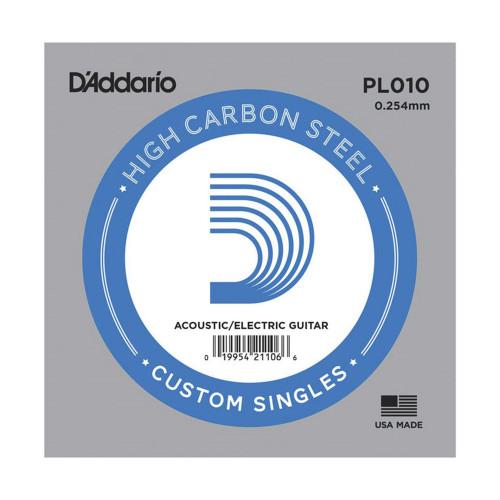 Изображение струни D`Addario PL010 - Front Side View|Leader Promusic