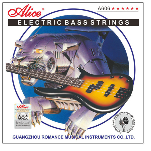 Зображення струн Alice A606-5 (1) - Front Side View Leader Promusic