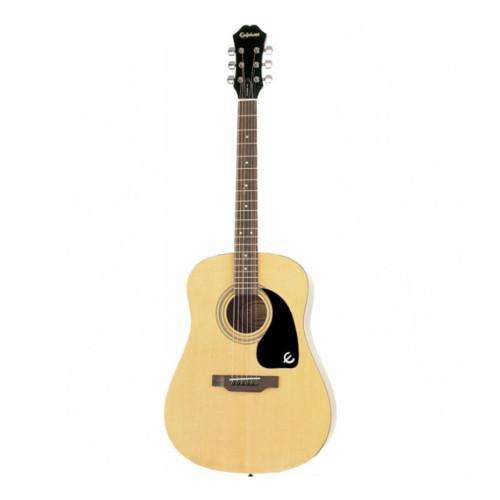 Зображення акустичної гітари Epiphone DR-100 NT - Front Side View | Leader Promusic
