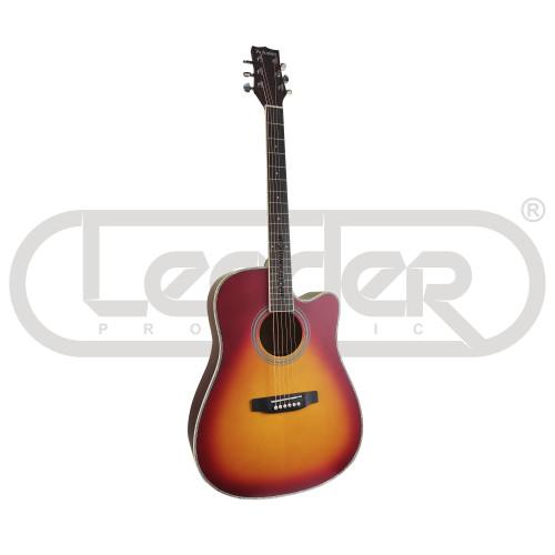 Акустическая гитара Parksons JB4111C Sunburst- Front Side View   Leader Promusic