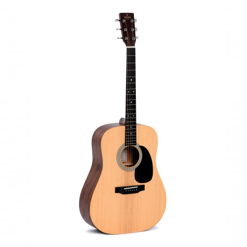 Зображення акустичної гітари Sigma DM-ST Plus – Front Left Side View   Leader Promusic