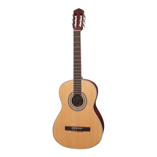 Зображення класичної гітари RCG001-39NF – Front Right Side View|Leader Promusic