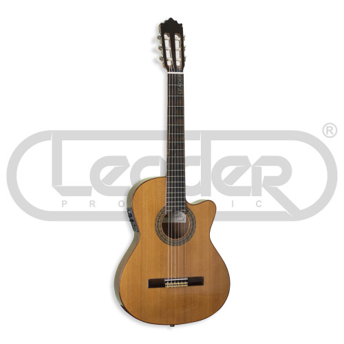 Изображение классической гитары Paco Castillo 232 TE – Front Left Side View|Leader Promusic