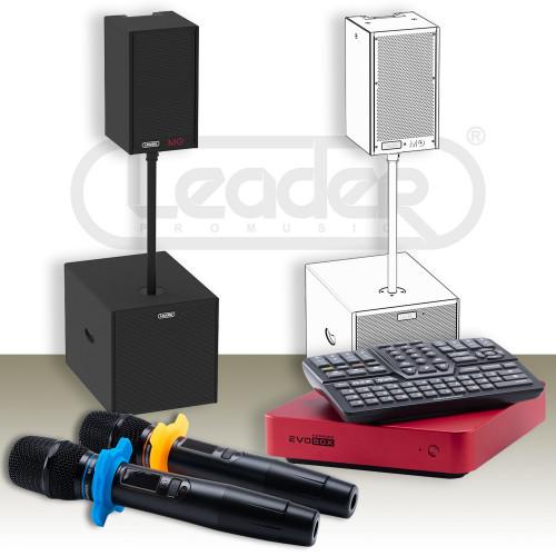 Зображення готового рішення для дому й офісу – караоке-комплект Leader Promusic Offline H1015 SET.