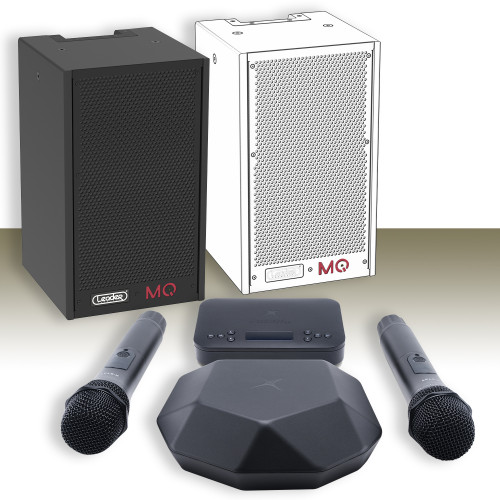 Изображение готового решения для дома и офиса – караоке-комплект Leader Promusic Online H10 SET.