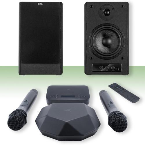 Изображение готового решения караоке-комплекта для офиса и дома X-VocalHome 2 | Leader Promusic