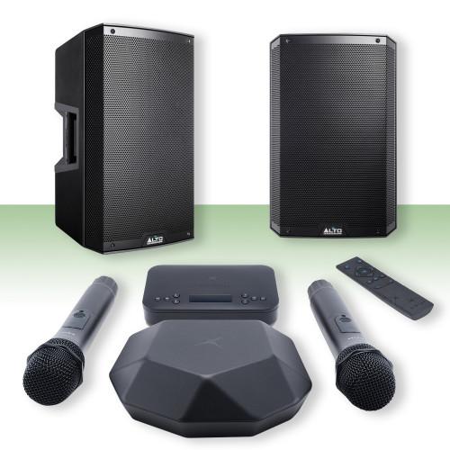 Изображение готового решения караоке-комплекта для офиса и дома X-VocalHome 4 | Leader Promusic