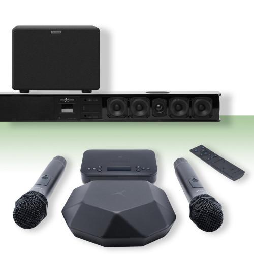 Изображение готового решения караоке-комплекта для офиса и дома Online X-Evo S | Leader Promusic