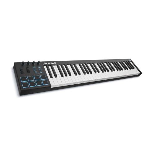 Изображение Midi-клавиатуры Alesis V61 – Top Left Side View|Leader Promusic