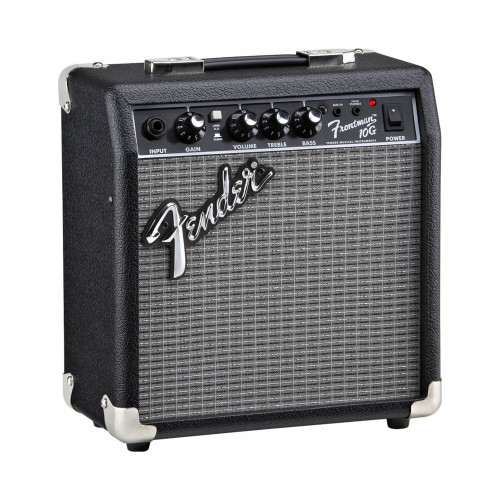 Изображение комбоусилителя для электрогитары Fender Frontman 10G – Front Right Side View | Leader Promusic
