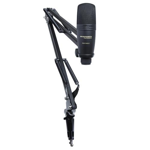 Зображення студійного мікрофона Marantz PRO Pod Pack 1 – Set-2 Side View Leader Promusic