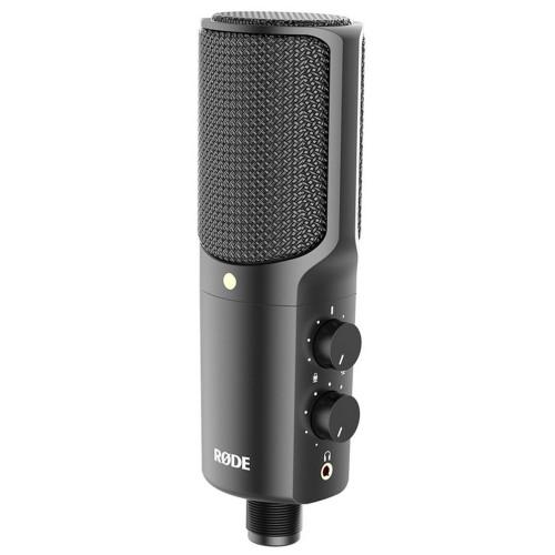Зображення студійного комплекту з мікрофоном Rode NT-USB – Front Side View | Leader Promusic