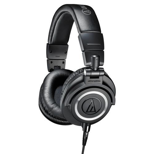 Зображення навушників Audio-Technica ATH-M50X – Left Side View|Leader Promusic