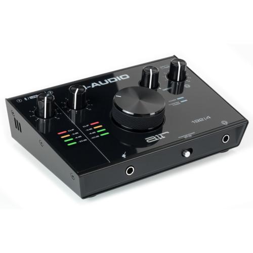 Зображення аудіоінтерфейсу M-Audio AIR 192|4 – Front Left Top Side View|Leader Promusic