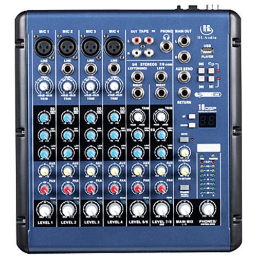 Зображення мікшерного пульта HL Audio SMR8 – Top Side View|Leader Promusic