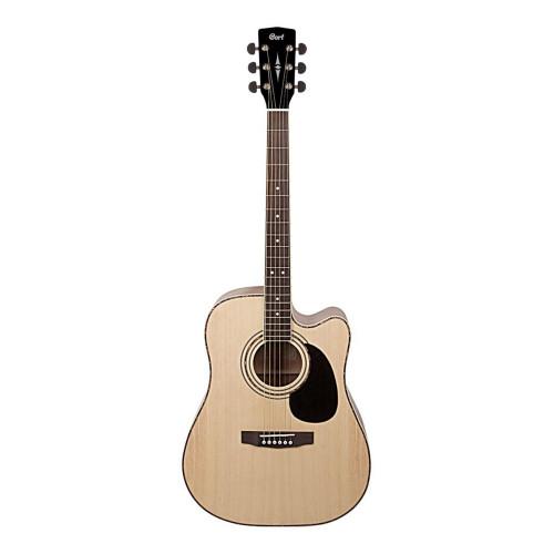Зображення електроакустичної гітари Cort AD880CE NS – Front Side View|Leader Promusic