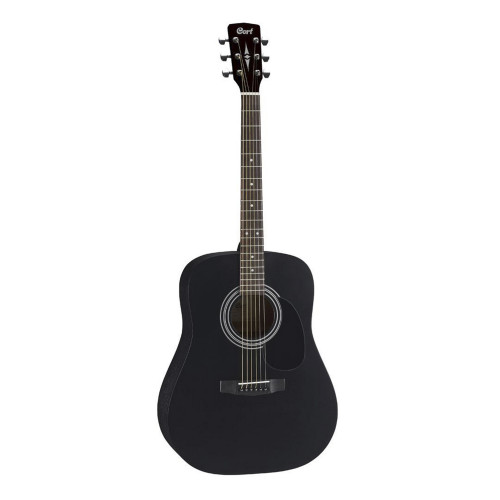 Зображення акустичної гітари Cort AD810 BKS – Front Left Side View|Leader Promusic