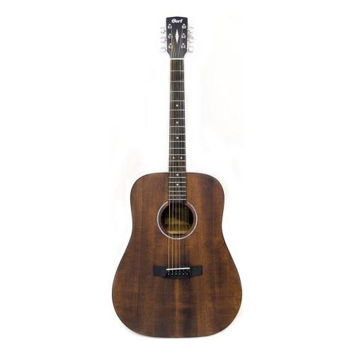 Зображення акустичної гітари Cort AD810 SSB – Front Side View|Leader Promusic