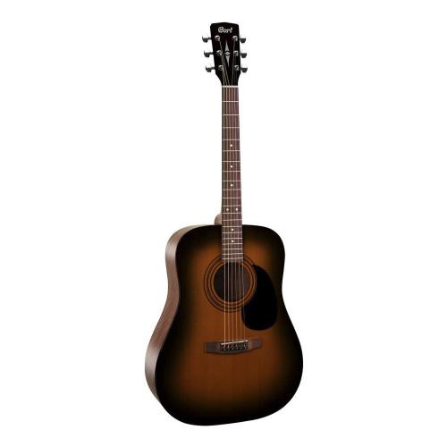 Зображення акустичної гітари Cort AD810 SSB – Front Left Side View|Leader Promusic