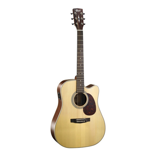 Зображення акустичної гітари Cort MR600F NS – Front Left Side View|Leader Promusic
