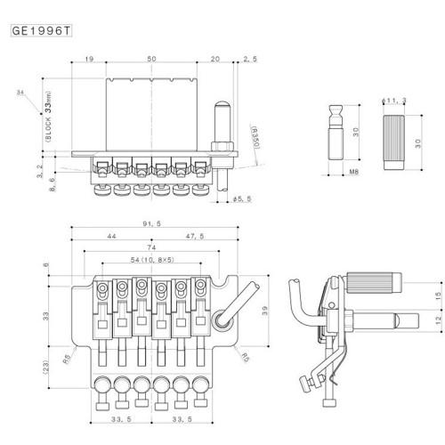 Gotoh GE1996T (33) C