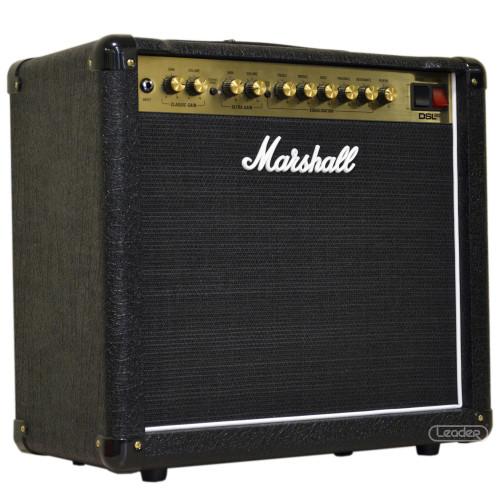 Изображение комбоусилителя для электрогитары Marshall DSL20CR – Left Front Side View | Leader Promusic