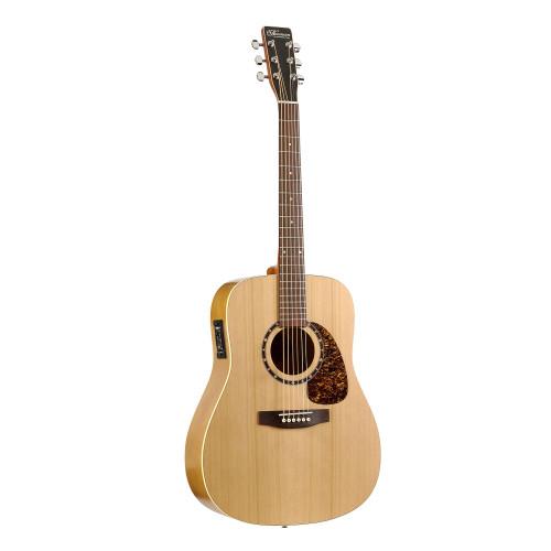 Изображение электроакустической гитары Norman Protege B18 EQ 027330 – Front Ride Side View|Leader Promusic