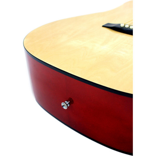 Зображення акустичної гітари Squier by Fender SA-150 NAT_electronics-side-view | Leader Promusic