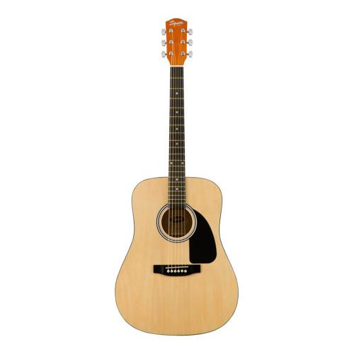 Изображение акустической гитары Squier by Fender SA-150 NAT_front-side-view   Leader Promusic