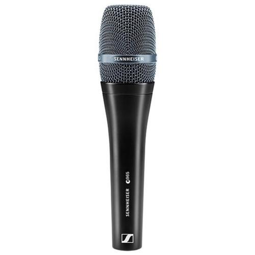 Изображение ручного микрофона Sennheiser E 965 - Front Side View-500881 | Leader Promusic